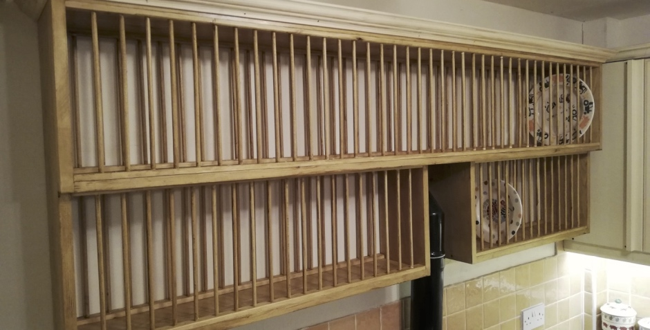 Bespoke Dishrack Joinery